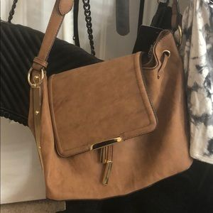 Satchel bag tan aldo